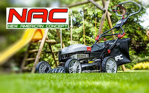 Kody rabatowe na maszyny ogrodowe marki NAC