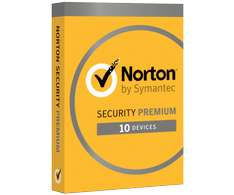 Symantec Norton Security Premium 3.0 (2016) 10st + 25GB
