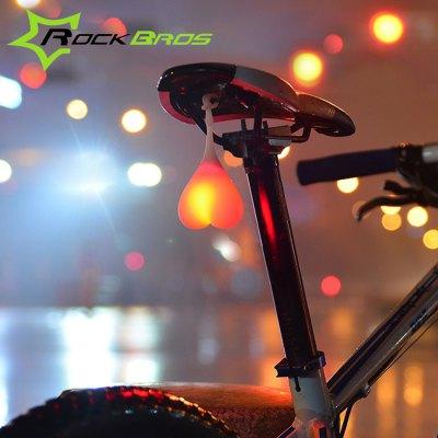 Lampka rowerowa w męskim, romantycznym kształcie @Gearbest