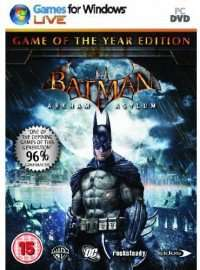 Batman : Arkham Asylum - Game Of The Year Edition (Steam) za 8,70zł @ CDkeys