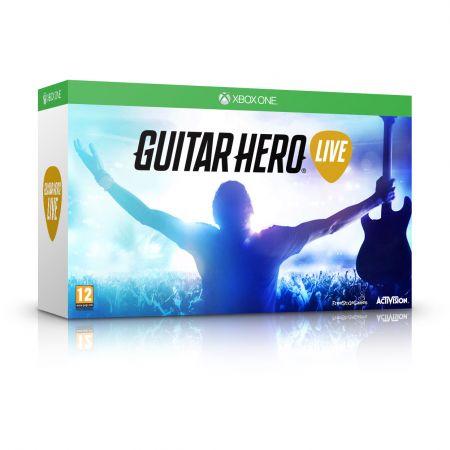 Guitar Hero Live - gra z gitarą (Xbox One, Xbox 360, Playstation 3) za 159zł @ Agito
