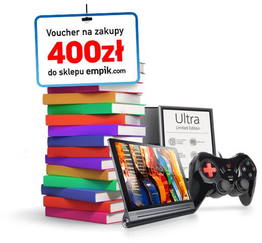 400zł do wydania w Empik.com za założenie darmowej karty kredytowej Simplecity @ CitiBank