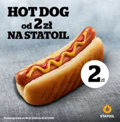 Hot Dog za 2zł @ Statoil