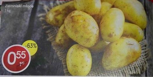 Ziemniak młody za 0,55 zł/kg w Polomarkecie