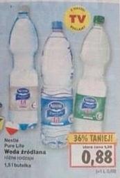 Woda źródlana Neste Pure Life 1,5 l  za 0,88 zł w Kauflandzie