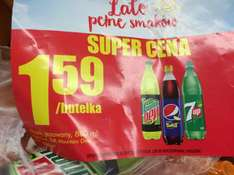napój 850ml Pepsi Twist, 7UP, Mountain Dew (Biedronka)