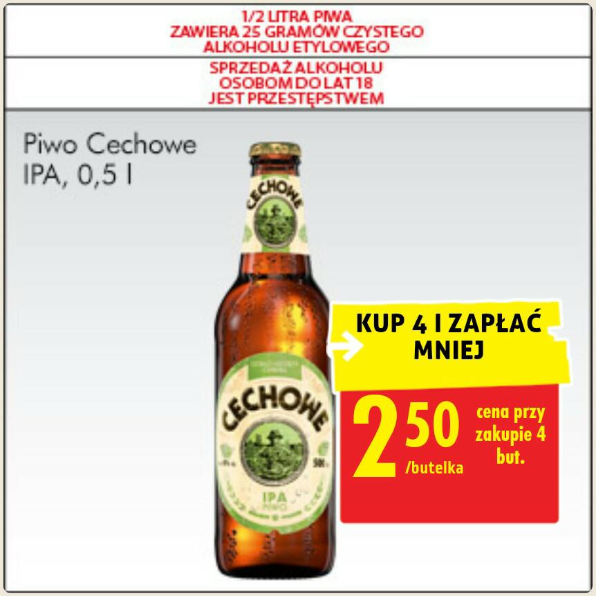 Piwo Cechowe IPA - Biedronka 2,5zł 0,5L