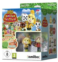 Animal Crossing Amiibo Festival + 2 figurki za 63zł z dostawą [Wii U] @ Amazon.de