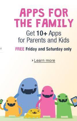 DARMOWE aplikacje dla dzieci i rodziców o wartości ok. 76 zł @ Amazon