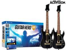 Guitar Hero Live (PS4) z dwiema gitarami @ iBood