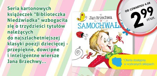 Od czwartku 4.08 w Biedronce książeczki dla dzieci po 2,99 zł (Jan Brzechwa i inne)