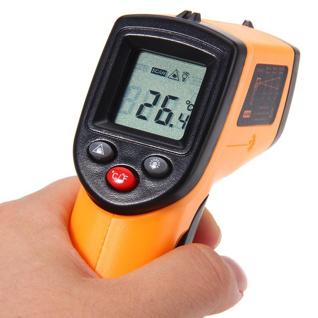 Termometr, pirometr na podczerwień (GM320) za ok. 22zł @ Aliexpress