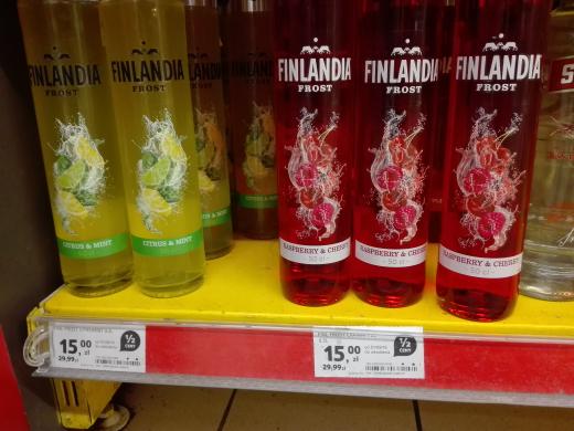 Likier Finlandia Frost 0,5l - 50% taniej