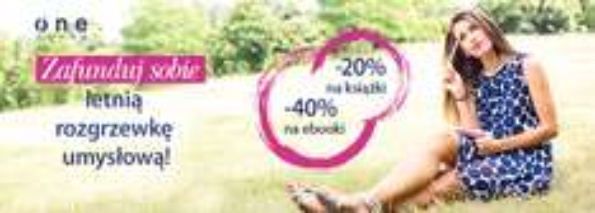 20% na książki 40% na ebooki @ Onepress