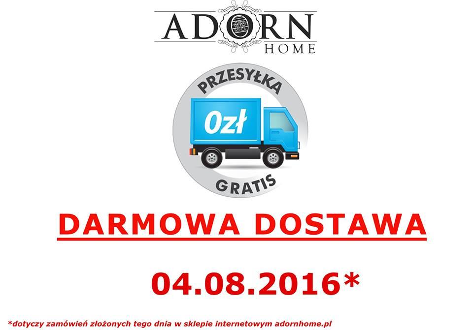 ADORN HOME, 4.08 - dzień darmowej dostawy