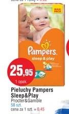 Pieluszki Pampers Sleep&Play za 25,95zł @ E.Leclerc