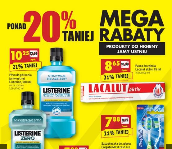 Ręczniki kuchenne, papiery toaletowe oraz produkty do higieny jamy ustnej taniej o ponad 20% @ Biedronka