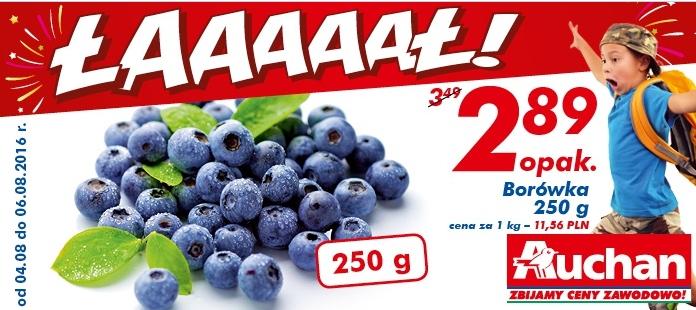 Borówki 250g @Auchan