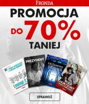 70% promocja na książki z wydawnictwa Fronda