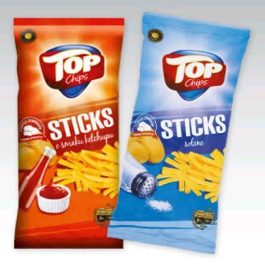 #Biedronka: Chipsy Sticks za 2,02zł przy zakupie 2 sztuk