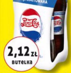 #Biedronka: Pepsi 4x1,75l za 8,48zł