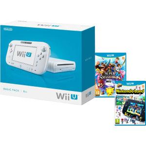 Nintendo Wii U Basic + Nintendo Land + Super Smash Bros. za około 860zł @ Zavvi