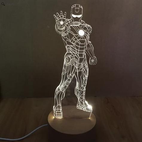 Przecena pre-orderu lampy z wizerunkiem Iron Mana ®