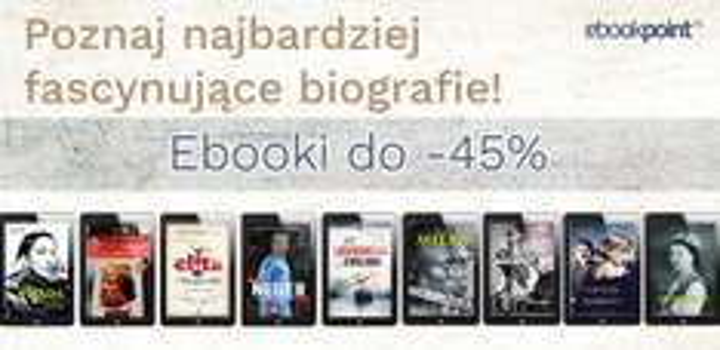 Fascynujące biografie -45% @ ebookpoint