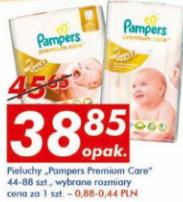 Pieluchy Pampers Premium Care Auchan
