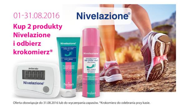 Przy zakupie dwóch produktów Nivelazione krokomierz GRATIS @ Hebe