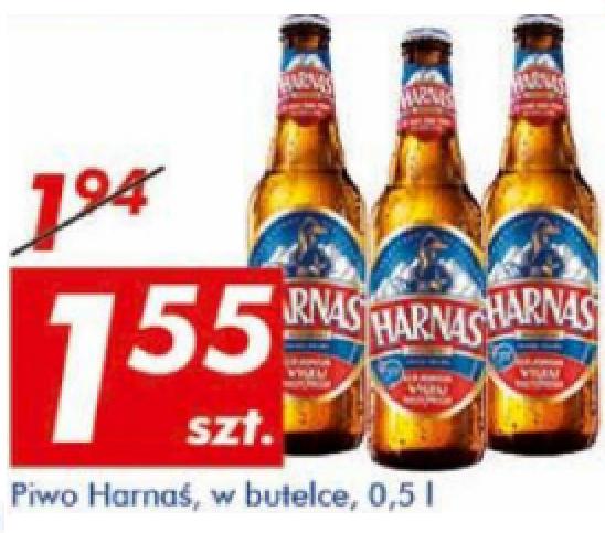 #Auchan: Piwo Harnaś 0,5l za 1,55zł