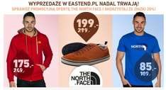 -20% albo i więcej - The North Face @Eastend