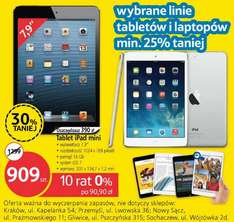 iPad mini (Wi-Fi) 16 GB za 909 zł @ Tesco
