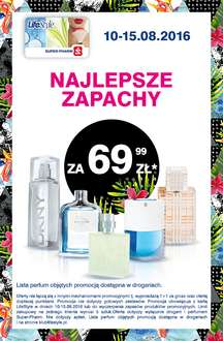 Oferta perfum za 69,99zł @ Super-Pharm