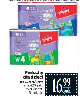 Pieluszki Bella Happy za 16,99zł @ Carrefour