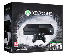 Microsoft XBOX One 1TB + Rise Of The Tomb Raider lub The Division @x-kom