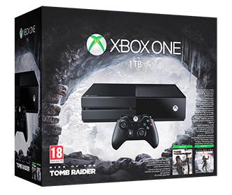Microsoft XBOX One 1TB + Rise Of The Tomb Raider lub The Division @x-kom