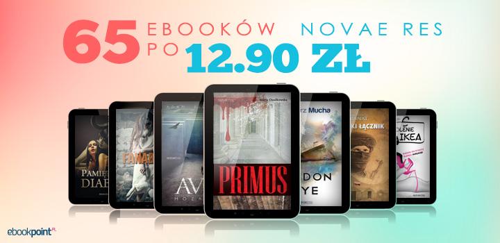 65 ebooków po 12,90zł @ Ebookpoint.pl