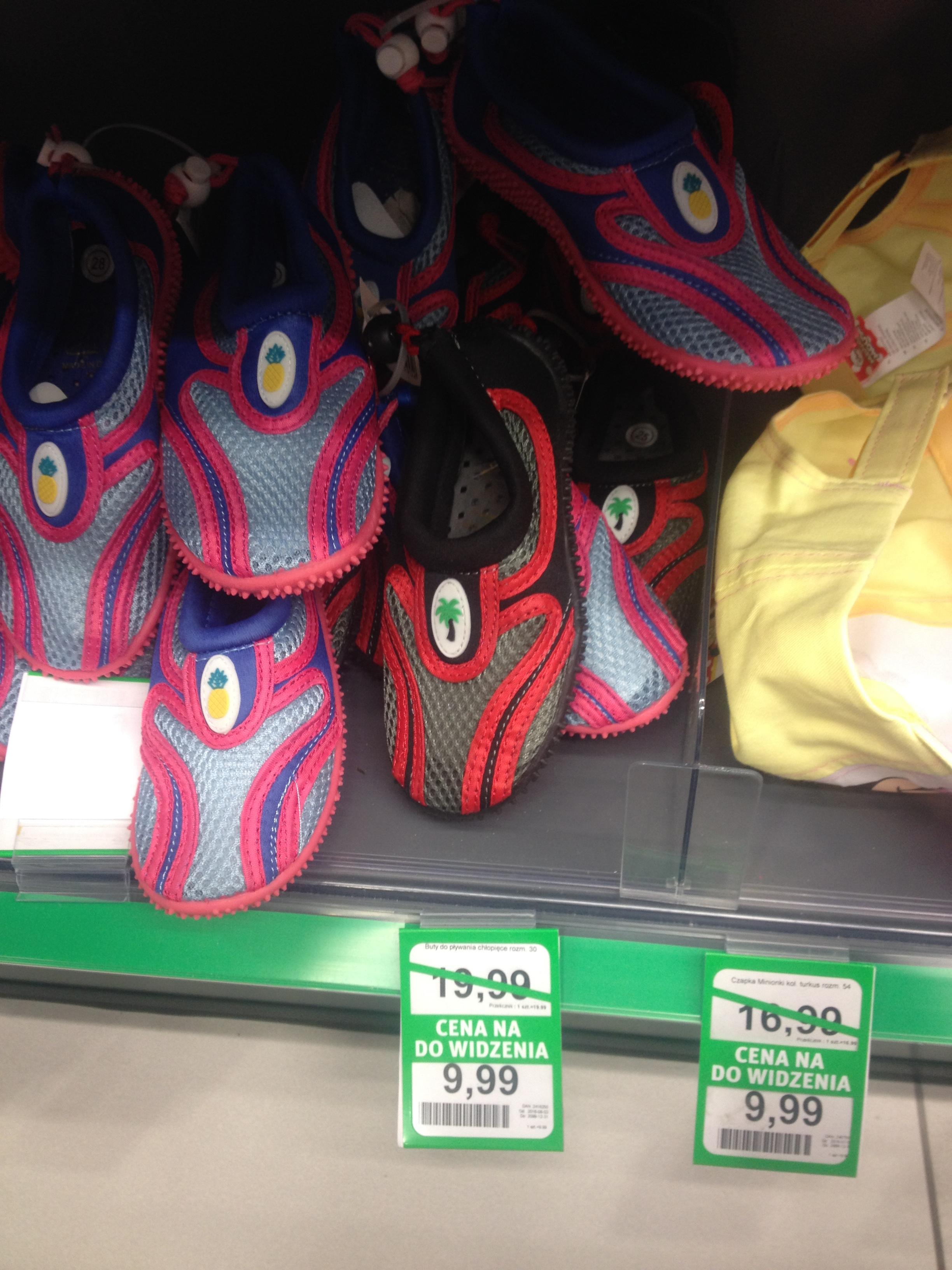 Buty do chodzenia W wodzie/buty do wody za 9,99zł (przecena z 19,99zł) @ Rossmann