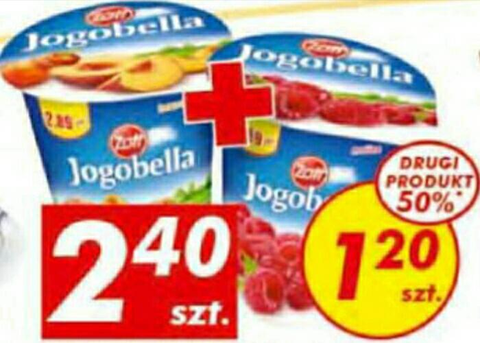 Jogobella 400g za 1,80 AUCHAN