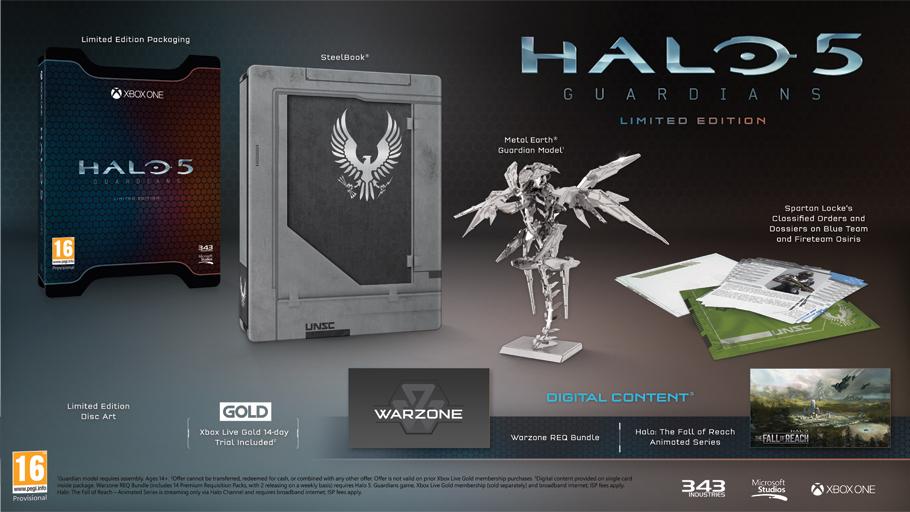 Halo 5:Guardians Edycja Limitowana na XBOX One za 119.90 zł