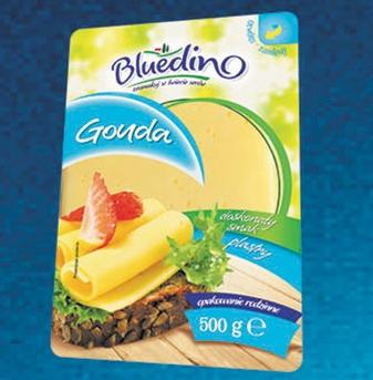 Ser żółty w plastrach Bluedino 500g za 4,99zł @ Lidl