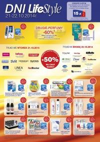 50% rabatu na całe marki, 60% zniżki na drugie perfumy!! @ Superpharm