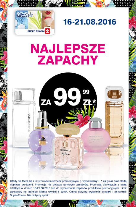 Wybrane perfumy za 99,99zł @ Super-Pharm