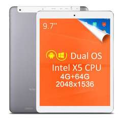 9,7-calowy tablet z Windows 10 i Android 5.1 64bit 4GB RAM 64GB ROM