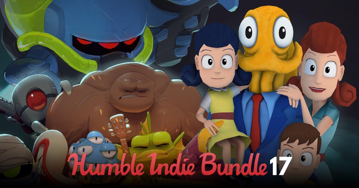 Indie 17 - pakiet gier już od ~4 groszy @ Humble Bundle