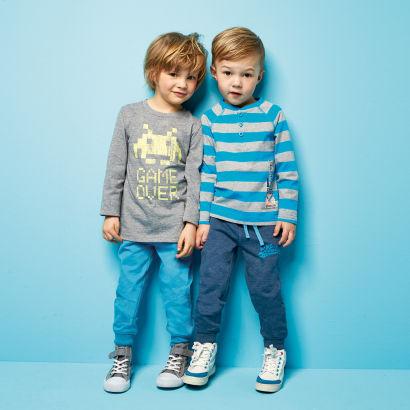 Dwie pary spodni dresowych dla dzieci za 26,99zł @ Aldi