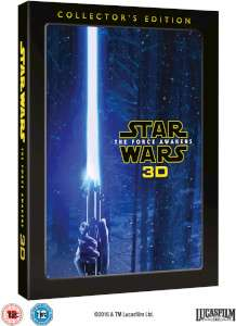 Star Wars: The Force Awakens 3D Collector's Edition (Blu-ray) za ok. 100zł @ Zavvi