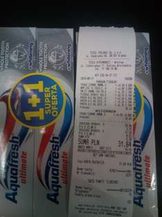 Aquafresh Ultimate 2 pack 70% taniej