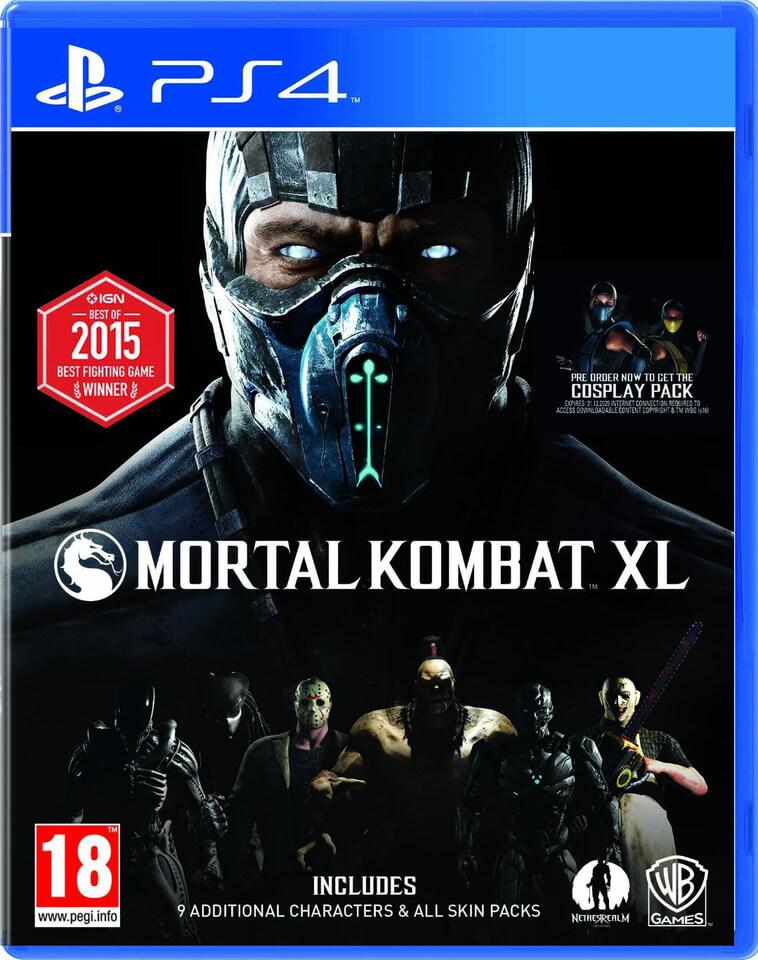 Mortal Kombat XL (PS4) za ok. 100zł (możliwe 90zł) @ Zavvi